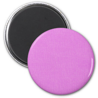 Magenta Pink Faux Linen Fabric Textured Background Refrigerator Magnets