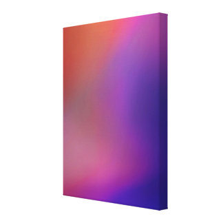 Magenta Pink Orange Purple & Red Abstract Canvas Print