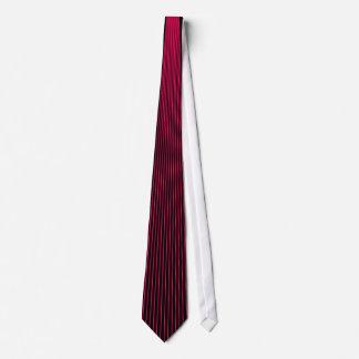Magenta Pinstripe Neck Tie