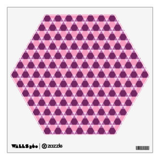 Magenta Purple/Pink TH Wall Decal