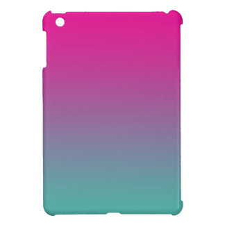 Magenta Purple & Teal Ombre Cover For The iPad Mini