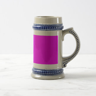 magenta purple template to personalize Customize Beer Stein