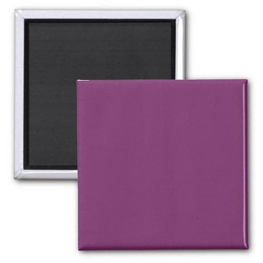 Magenta Purple Trend Color Template Blank Colors Magnet
