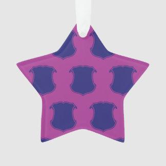 Magenta púrpura del escudo del escudo