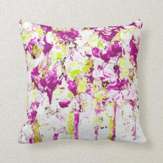 Magenta Rain Cushion