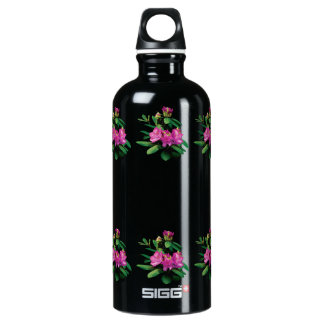 Magenta Rhododendrons With Buds Aluminum Water Bottle