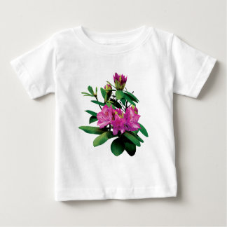 Magenta Rhododendrons with Buds Baby T-Shirt