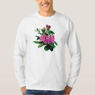 Magenta Rhododendrons with Buds Mens T-Shirt