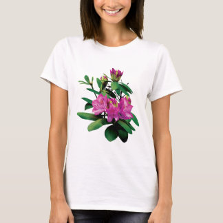 Magenta Rhododendrons with Buds T-Shirt