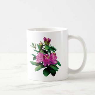 Magenta Rhododendronswith Buds Classic White Coffee Mug