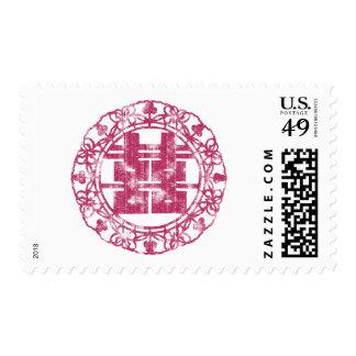 Magenta Shuan Xi Stamp
