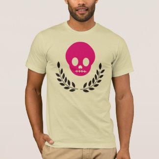 Magenta Skull T-Shirt