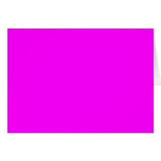 Magenta Solid Color Card