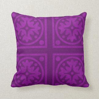 Magenta Solid Color Pillow Design