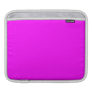 Magenta Solid Color Sleeve For iPads