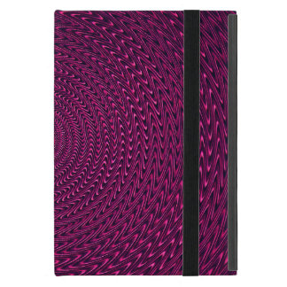 Magenta Swirl Design iPad Mini Covers