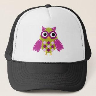 Magenta the Adorable Owl Trucker Hat
