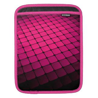 Magenta Tiles iPad Sleeve