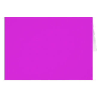Magenta Violet Bright Purple Color Background Card