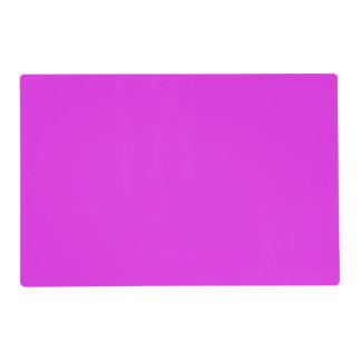 Magenta Violet Bright Purple Color Background Placemat