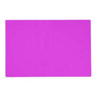 Magenta Violet Bright Purple Color Background Placemat