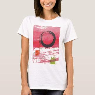 Magenta Zen Circle T-Shirt