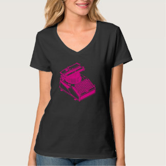 Magentype / Magenta Type Writing Machine T-Shirt