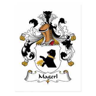 Magerl Family Crest Postcards