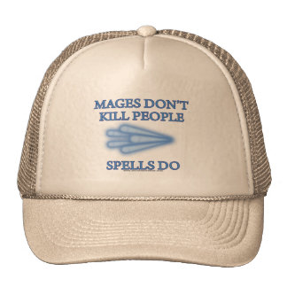 Mages no mata a gente… gorras de camionero