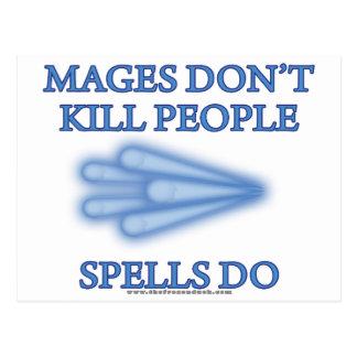 Mages no mata a gente… postal