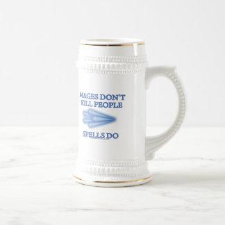 Mages no mata a gente… jarra de cerveza