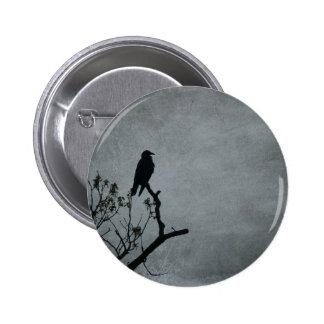 Magestic Crow Button