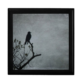 Magestic Crow Jewelry Box