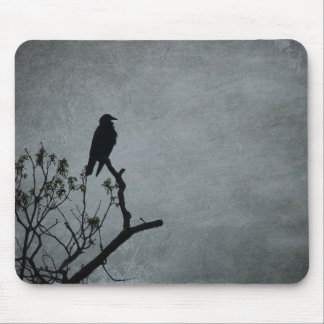 Magestic Crow Mouse Pad