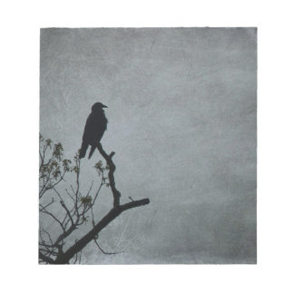 Magestic Crow Notepad