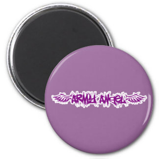 Magets - Army Angel 2 Inch Round Magnet