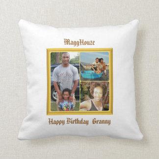MaggHouze Birthday Pillow