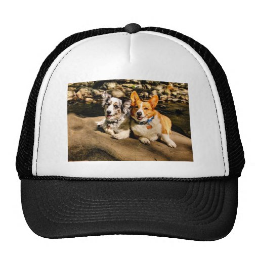 Maggie and Charlie's Vacation Trucker Hat
