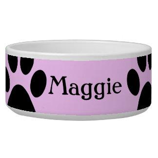 Maggie Custom Dog bowl
