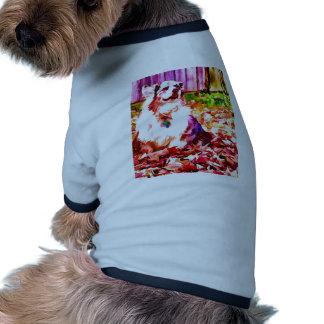 Maggie engrasó camiseta con mangas para perro