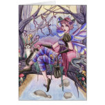 Maggie - Fairy and Cat Card