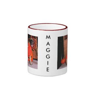 Maggie - mastín - Freeman Taza A Dos Colores