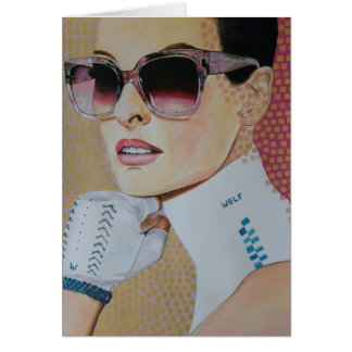 Maggie May - Dare to be Square Greeting Card
