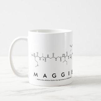 Maggie peptide name mug