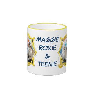 Maggie Roxie and Teenie Ringer Coffee Mug