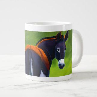 Maggie the donkey jumbo coffee mug