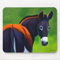 Maggie the donkey mousepad by LAWebb