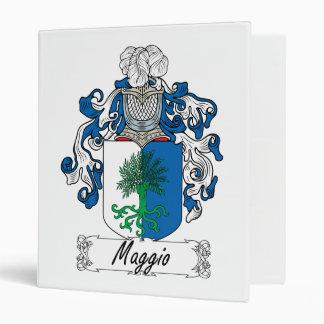 Maggio Family Crest Binders