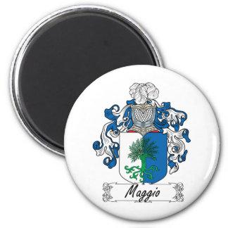 Maggio Family Crest Magnet