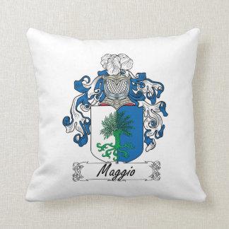 Maggio Family Crest Throw Pillows